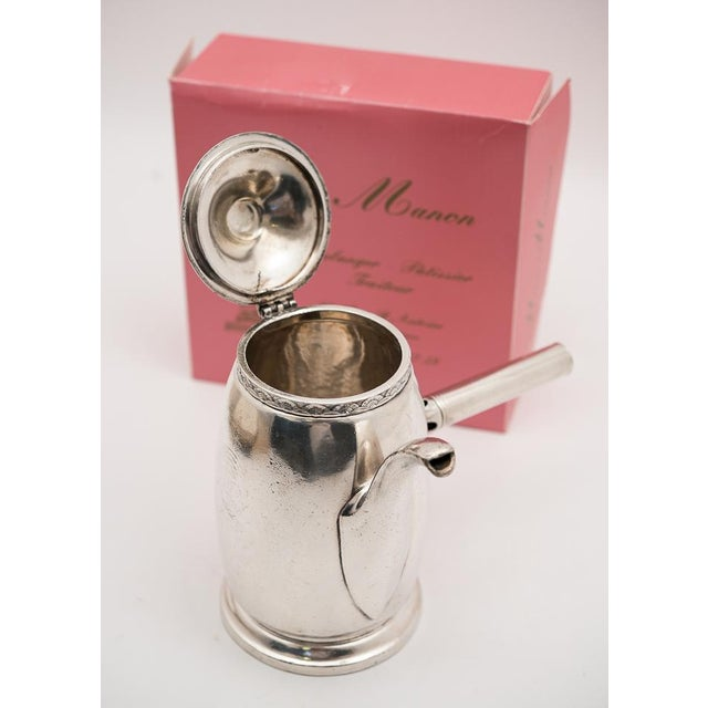 Hotel Pierre NYC Handled Coffee Pot, 1954 - Image 6 of 7