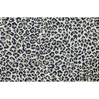Stark Studio Rugs, Wildlife, Cobalt, Sample For Sale