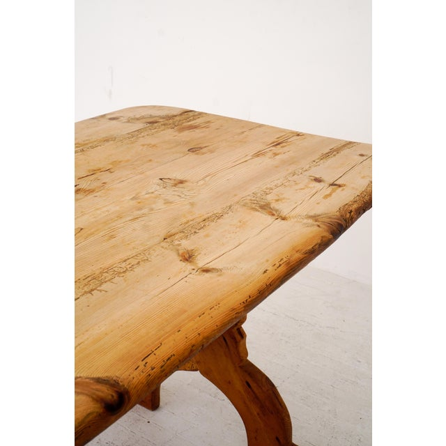 Swedish Rural Pinewood Table, 19th Century For Sale In New York - Image 6 of 7