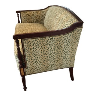 Hickory Chair James River Sheraton Loveseat For Sale