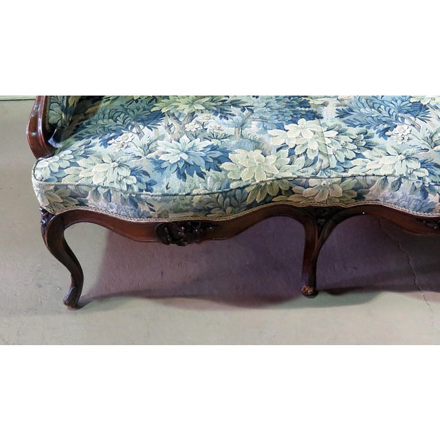 Antique Louis XV Style Sofa For Sale - Image 4 of 12