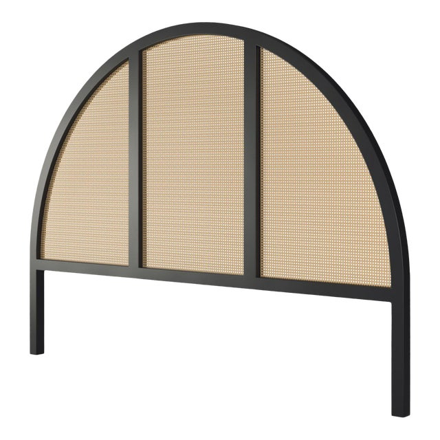 Eva Headboard - King - Black Iron For Sale