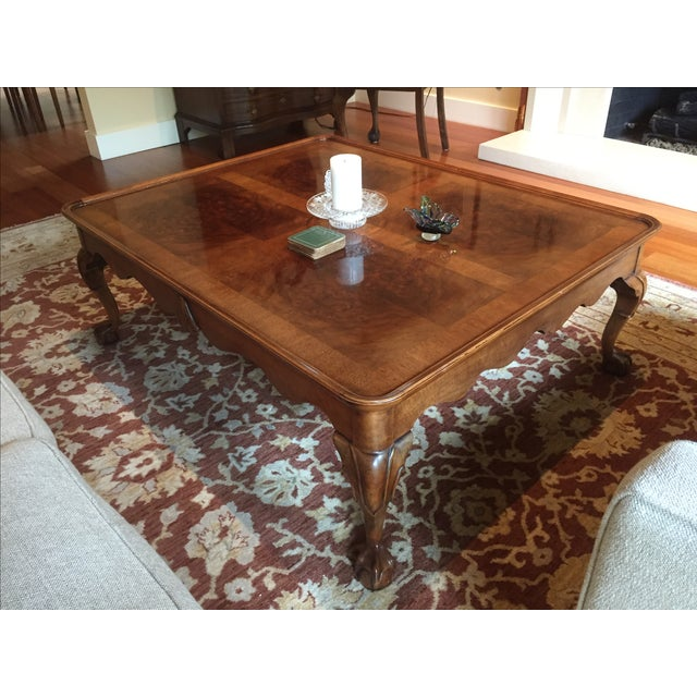 Chippendale Style Henredon Mahogany Coffee Table - Image 6 of 9