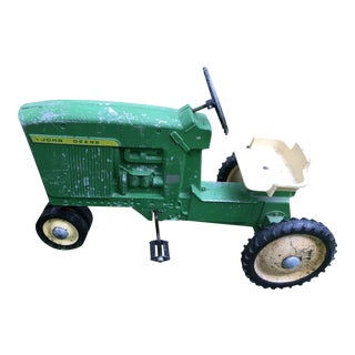 Rustic Collector's Ertl Child Pedal Tractor For Sale
