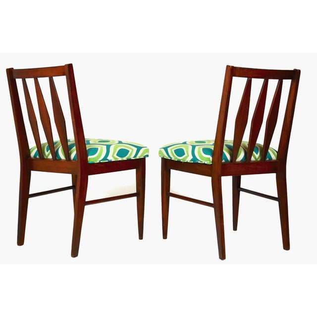 Mid-Century Teak Side Chairs- A Pair - Image 5 of 5