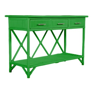 Aruba Sideboard - Bright Green For Sale
