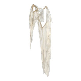 Sculptural Wall Hanging by Polly Yates, Set of 2 For Sale