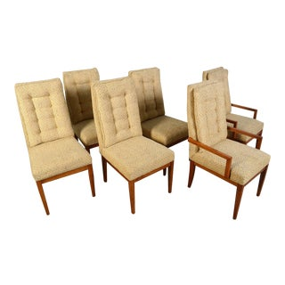 Founders Furniture Mid-Century Modern Dining Chairs - Set of 6 For Sale