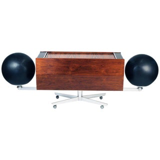 Clairtone Project G-1 Model T10 Rosewood Stereo System For Sale