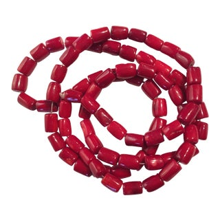Nepalese Natural Coral Trade Beads For Sale