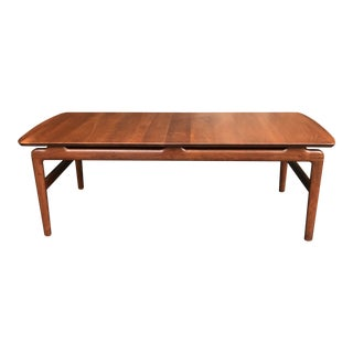 Frank and Sons Sculptural Mid-Century Modern Coffee Table