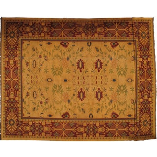 Pasargad Pile Sumak Weave Sultanabad Design Hand-Woven Rug - 12' X 17' For Sale
