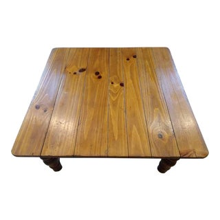 Ethan Allen Farmhouse Pine Coffee Table