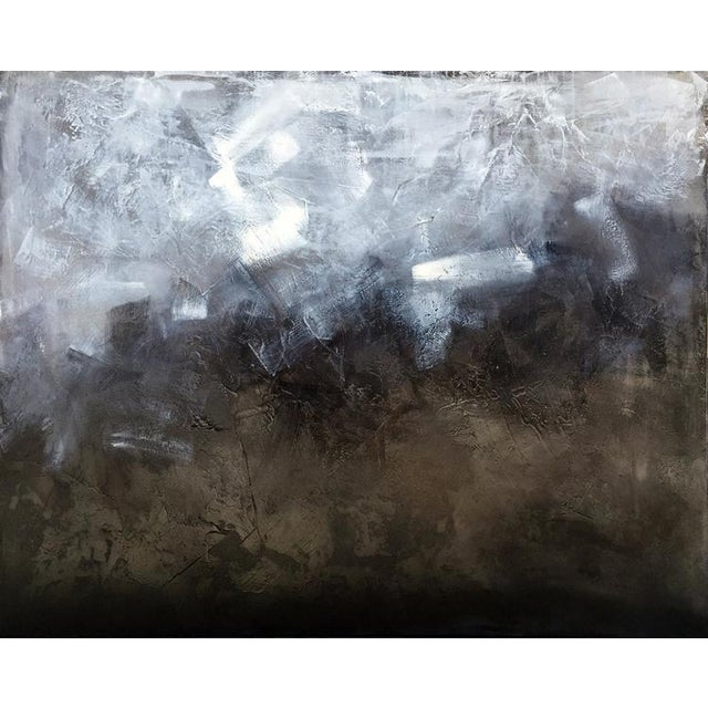 Canvas Teodora Guererra, 'Industrial Couture' Painting, 2016 For Sale - Image 7 of 7