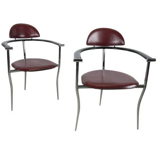 Pair of 'Marilyn' Chairs by Arrben For Sale
