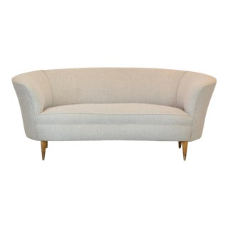 Italian Mid-Century Sofa Attributed to Gio Ponti, 1950's For Sale