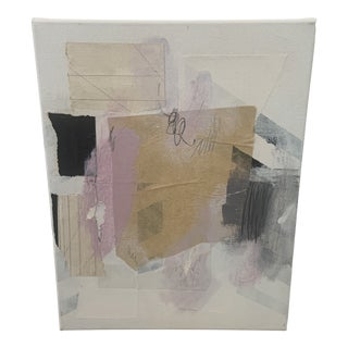 Contemporary Modern Abstract Mixed-Media Painting by Ross Severson For Sale