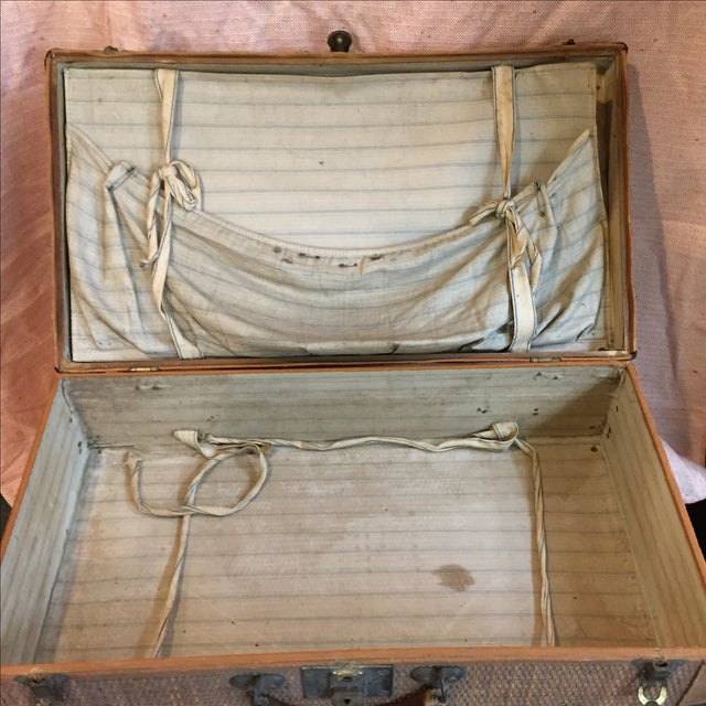 Rattan Suitcase For Sale - Image 11 of 11