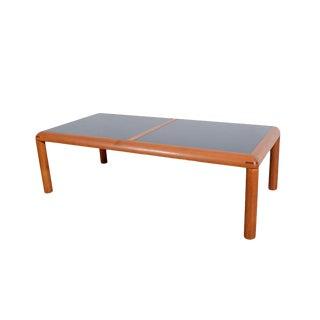 D Scan Danish Modern Flip-Top Teak Coffee Table For Sale
