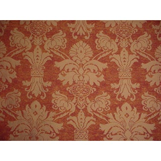 Kravet Couture Scarlatti Amber French Floral Damask Upholstery Fabric- 5 Yards For Sale