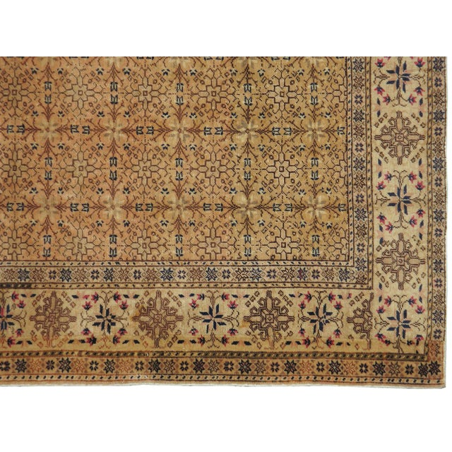 "Vintage Turkish Sivas Rug - 6'8"" X 9'3"" - Image 3 of 3"