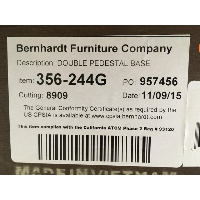"""Bernhardt """"Jet Set"""" Dining Table & 8 Chairs For Sale - Image 12 of 13"""