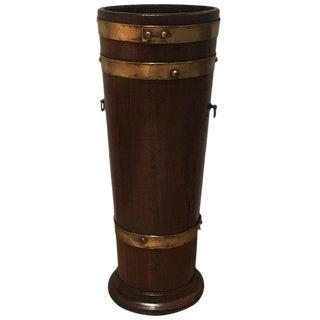 Mid 19th Century Antique English Umbrella Stand For Sale