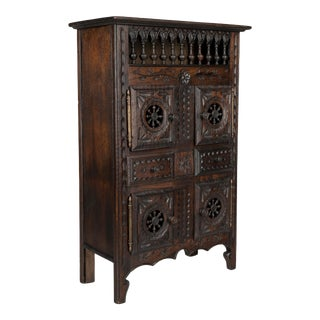 French Miniature Brittany Cabinet For Sale