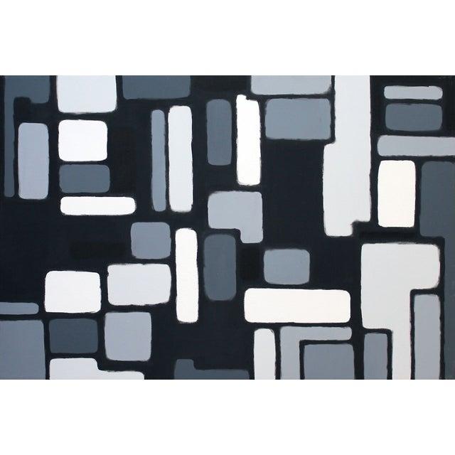 "Original ""Cityscene 3"" Painting - Image 1 of 3"