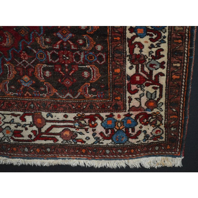 "Vintage Persian Rug - 3'5"" x 5'1"" - Image 3 of 3"
