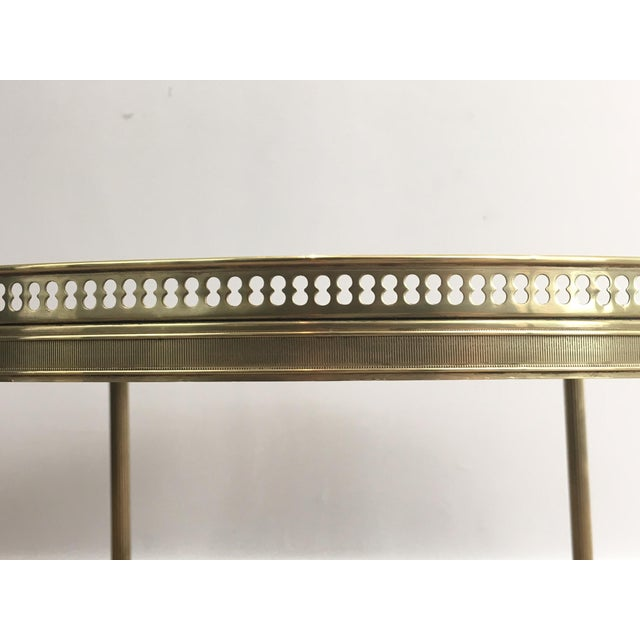 Neoclassical Brass Coffee Table by Maison Jansen - Image 3 of 11