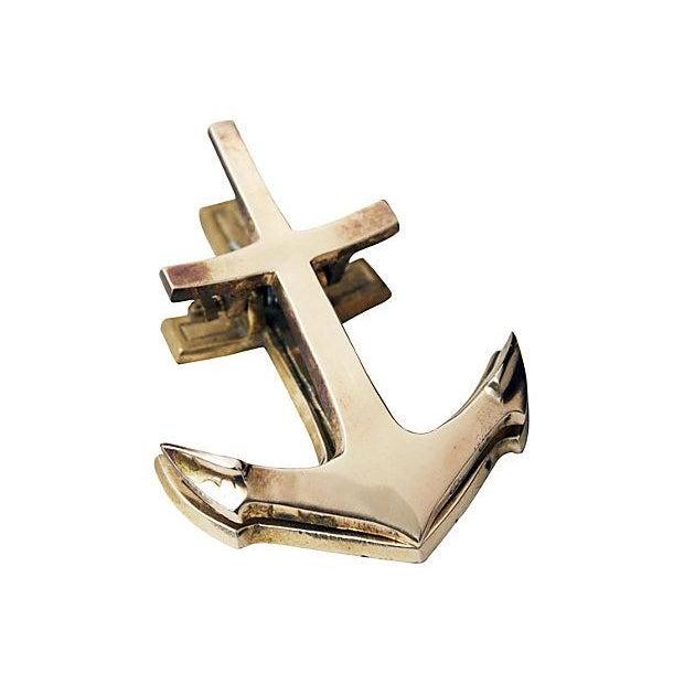 Brass Anchor Desk Clip - Image 2 of 4