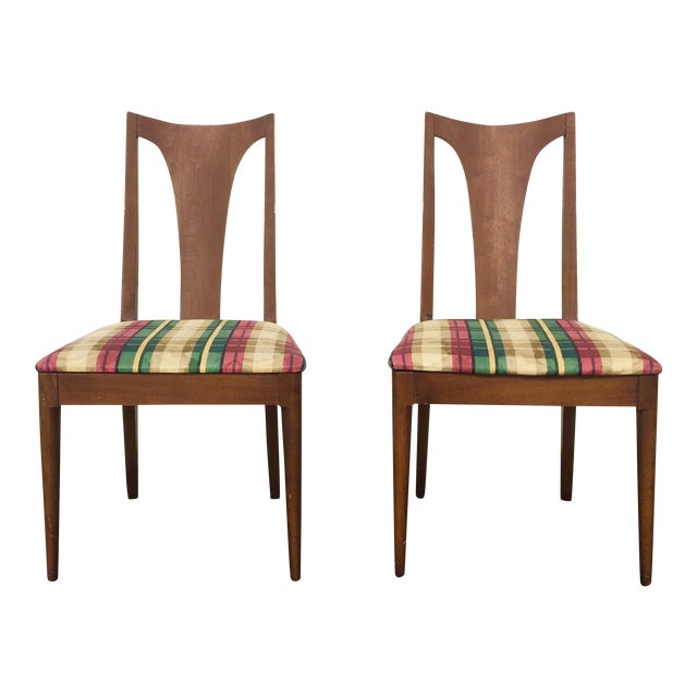 Broyhill Brasilia Dining Chairs - A Pair - Image 1 of 6