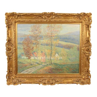 Late 20th Century Norton Shaw Landscape Painting For Sale