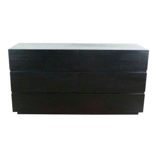 Crate & Barrel Six-Drawer Dresser For Sale