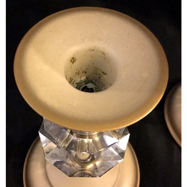 Mid-Century Table Centerpiece Candle Holders - Set of 3 For Sale - Image 5 of 8