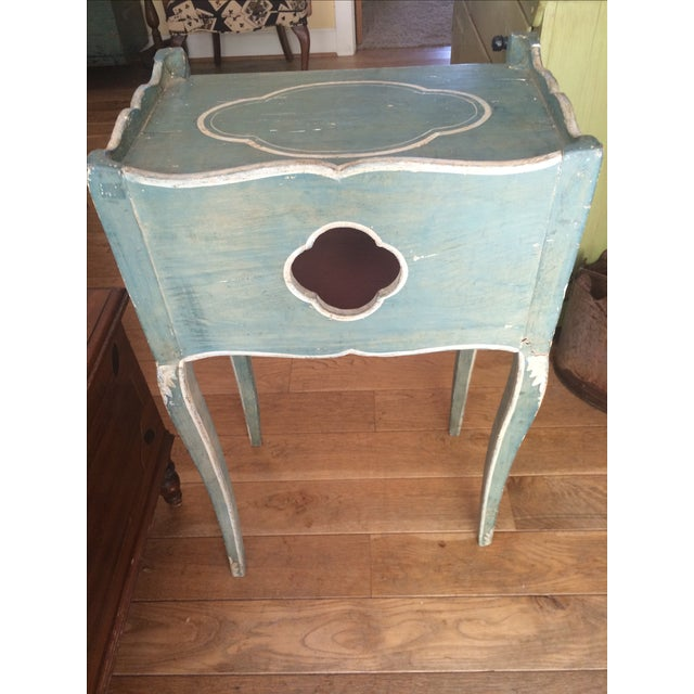 Antique French Country Side Table - Image 3 of 5