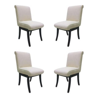 Set of 4 Van Keppel, Green Chairs For Sale