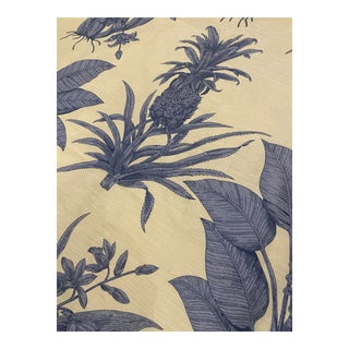 Thibaut Tropical Toile Fabric - 6 Yards For Sale