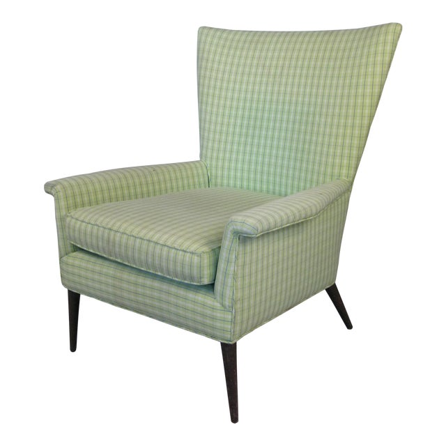 High Back Lounge Chair by Paul McCobb For Sale