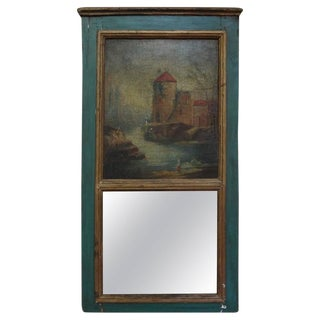 19th Century French Louis XVI Style Trumeau For Sale