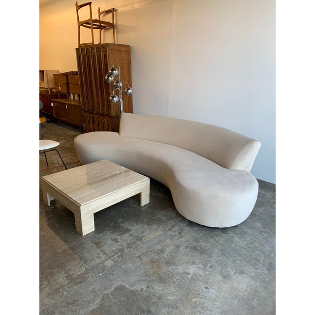 Mid Century Style Cloud Sofa For Sale - Image 4 of 13