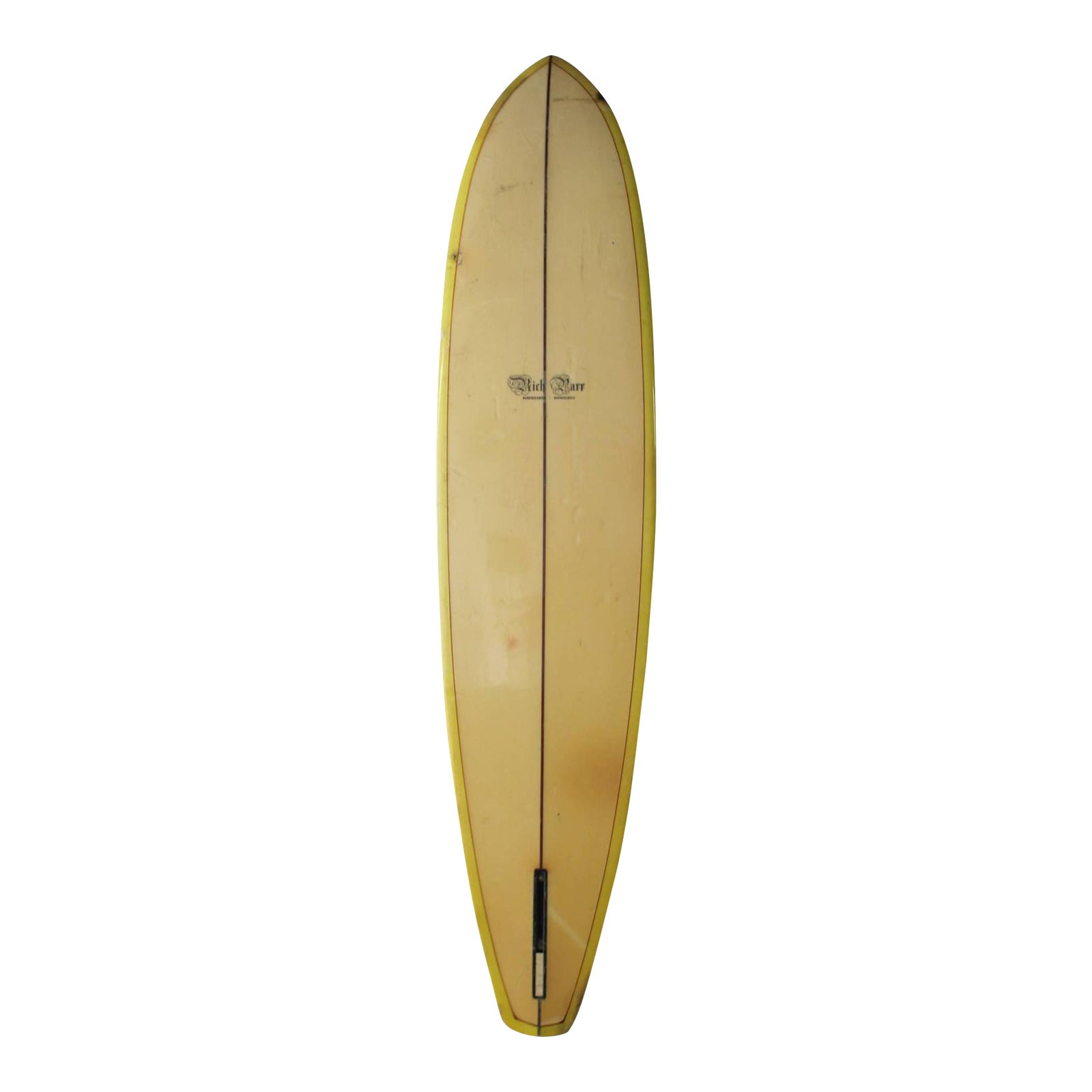 Vintage Rich Parr Surfboards, Honolulu Surfboard | Chairish