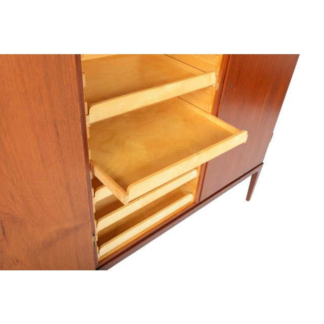 Tall Danish Modern Teak Bureau - Image 8 of 10