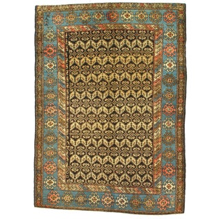 """Early 20th Century Antique Persian Hamadan Rug - 3′10″ × 5′5"""" For Sale"""