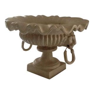 Decorative Faux Limestone Flower Vase