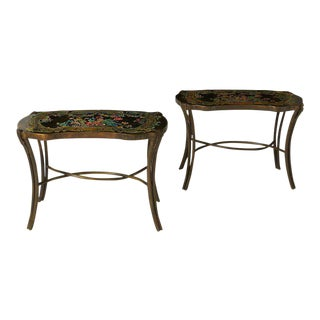 Phillip & Kelvin Laverne Madame Pompadour Tables For Sale