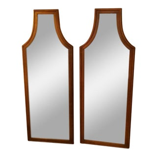 Hollywood Regency Mirrors - a Pair For Sale
