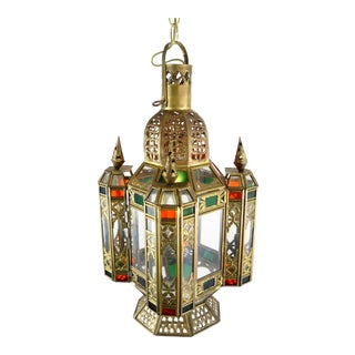 Moroccan Hanging Lantern For Sale