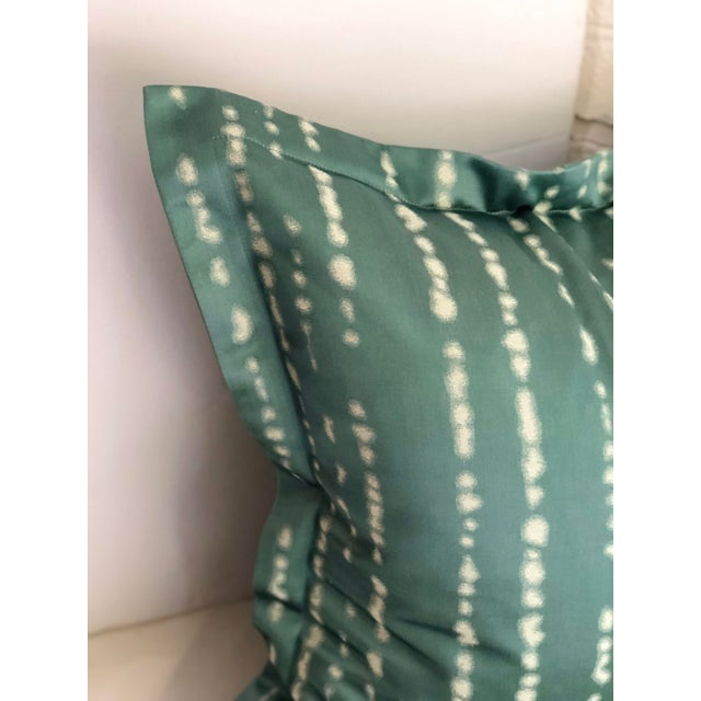 """Abstract Pair of 24"""" Jim Thompson Pillows For Sale - Image 3 of 11"""